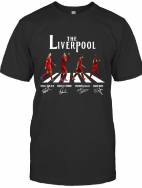 The Liverpool Abbey Road Players Signature T-Shirt