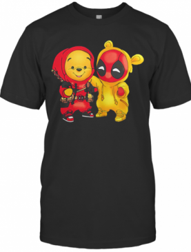 Baby Pooh And Deadpool T-Shirt