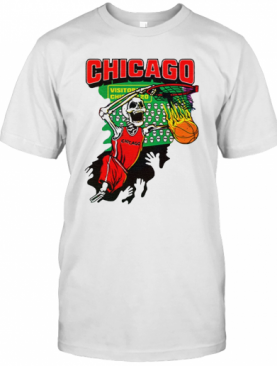 Chicago Tie Dye Basketball For T-Shirt