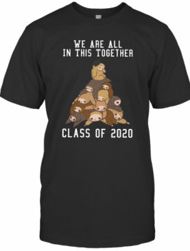 We Are All In This Together Class Of 2020 T-Shirt