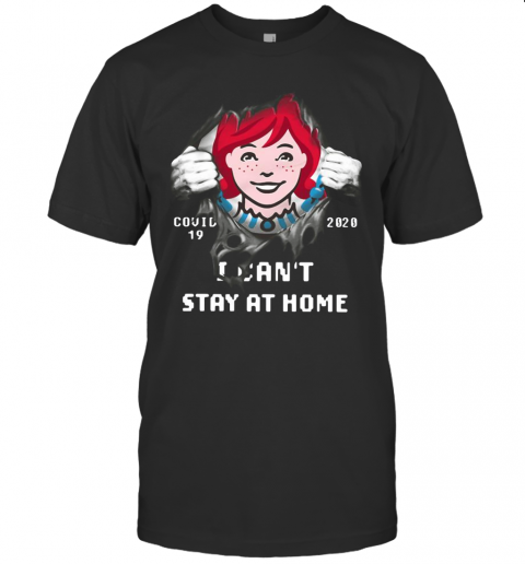Wendy'S Inside Me Covid 19 2020 I Can'T Stay At Home T-Shirt Classic Men's T-shirt