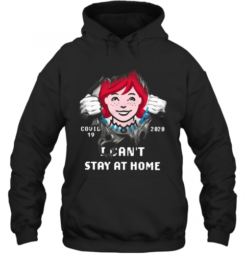 Wendy'S Inside Me Covid 19 2020 I Can'T Stay At Home T-Shirt Unisex Hoodie