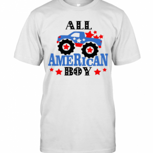 All American Boy Independence Day T-Shirt Classic Men's T-shirt