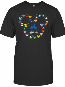 Heart Mickey Mouse We Are Never Too Old For Disney T-Shirt