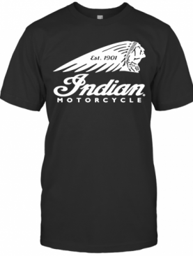 Native Est 1901 Indian Motorcycle T-Shirt