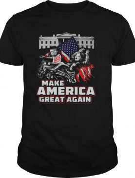 Make america great again american flag independence day shirt