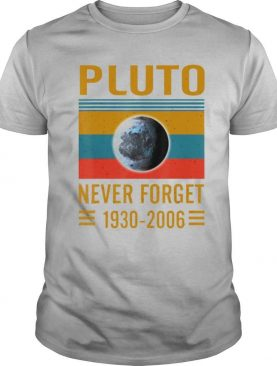 Never Forget Pluto Space Science shirt