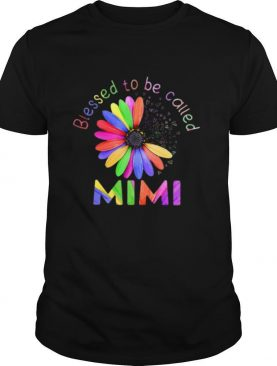 Blessed To Be Called Mimi Hippie shirt