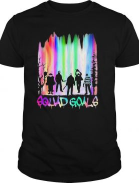 Halloween horror characters squad goals mountain shirt