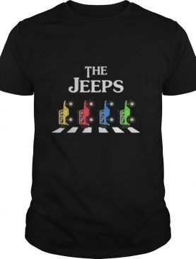 The car color crossing the line shirt