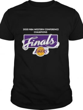 2020 Nba Western Conference Champions Finals Los Angeles shirt