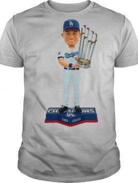 Corey Seager Los Angeles Dodgers 2020 World Series Champions shirt