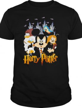 Disney mickey mouse and friends harry potter shirt