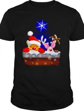 Pooh and piglet christmas shirt