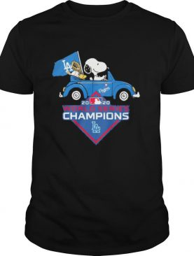 Snoopy And Woodstock Los Angeles Dodgers World Series Champions shirt