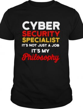 Cybersecurity IT Analyst Just Job Certified Tech Security shirt