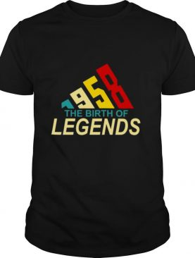 1958 the Birth of Legends shirt