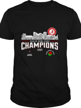 Alabama Crimson Tide rose bowl game champions 2021 shirt
