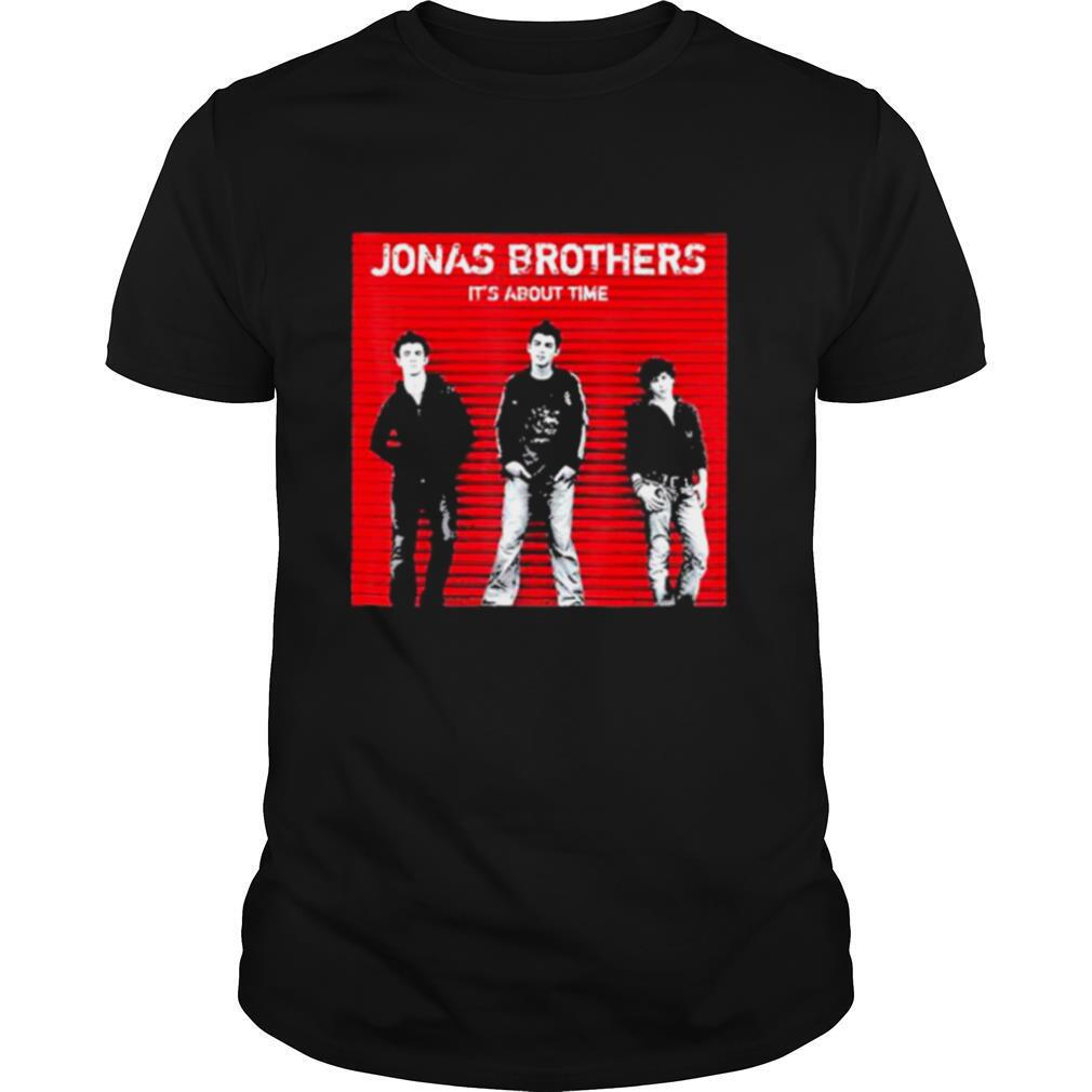 Jonas brothers it's about time shirt
