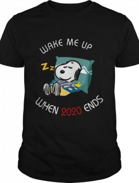 Wake Me Up When 2020 Ends shirt