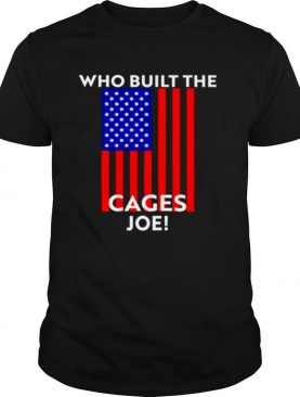 Who built the Cages Joe flag shirt