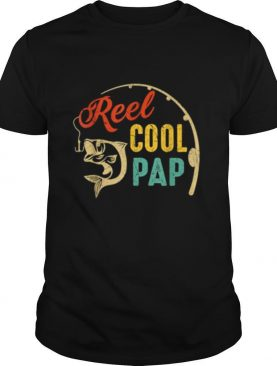 Vintage Fishing Reel Cool Pap shirt