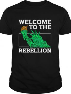 Welcome To The Rebellion Convervative Anti Cancel Cultre shirt