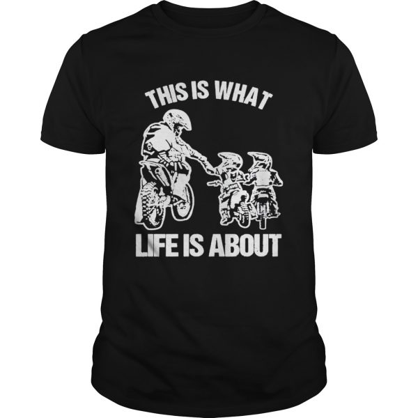 Motocross this is what life is about  Unisex