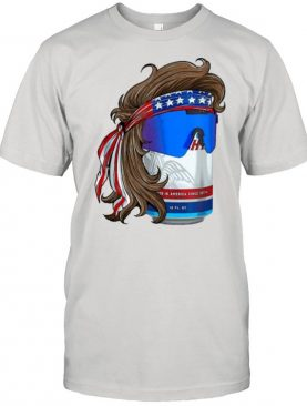 Patriotic Mullet Beer Graphic 4th of July Summer Shirt